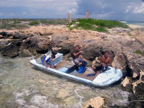 Bimini Boat Wreck