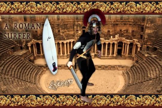 A Roman Surfer