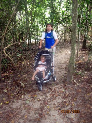 Stroller in Manuel Antonio Park