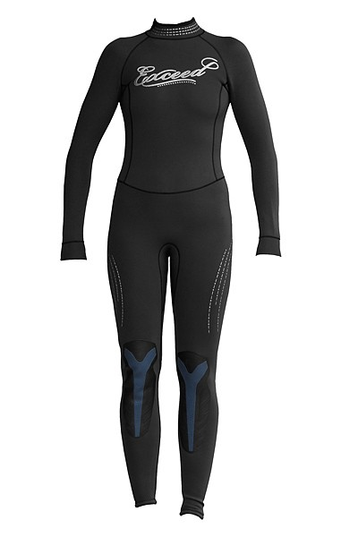 Exceed Eccentric Womens 3/2mm Full Wetsuit