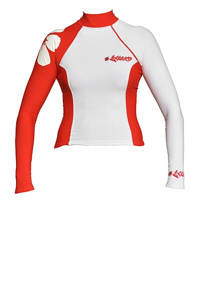 Exceed Eden L/S Womens Long Sleeve Rash Guard