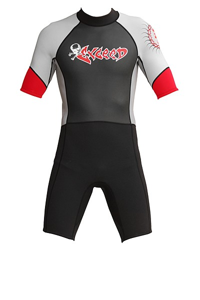 Exceed Epic Mens 3/2mm Shorty Wetsuit