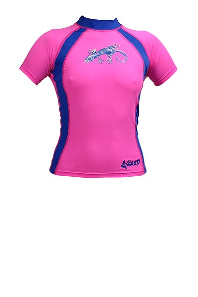 Exceed Evasive S/S Womens Short Sleeve Rash Guard