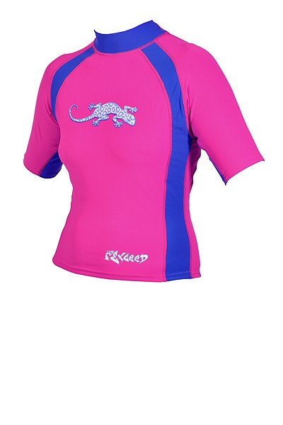 Exceed Evasive S/S Remix Womens Short Sleeve Rash Guard