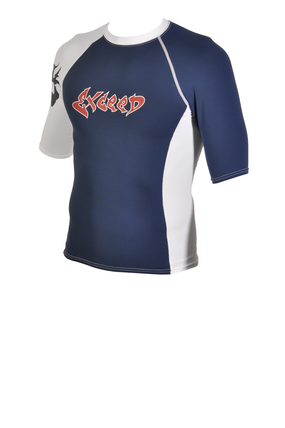 Exceed Edge Mens Short Sleeve Rash Guard