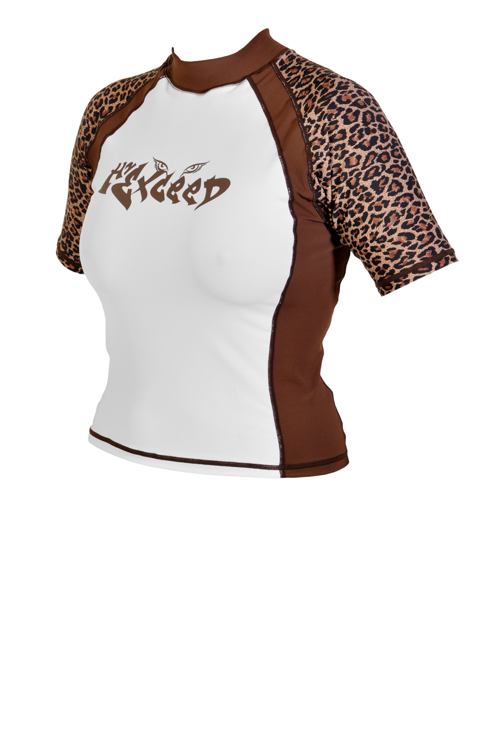 Exceed Enrage S/S Womens Short Sleeve Rash Guard