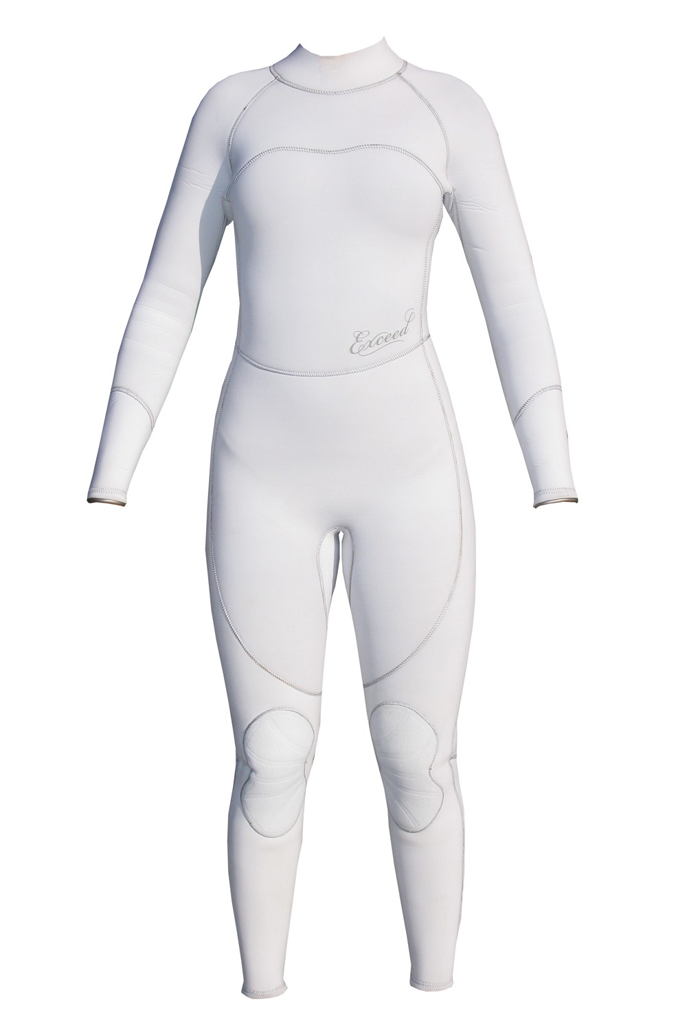 Exceed Empress White Womens 3/2mm Full Wetsuit